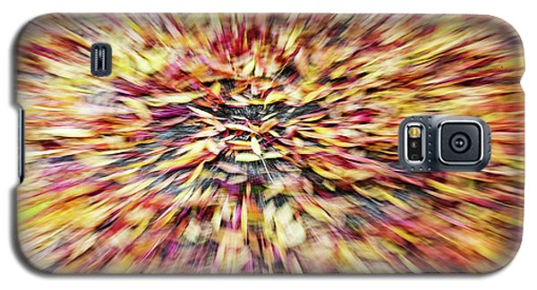 Galaxy S5 Case featuring the photograph Abstract Leaves 1 by Rebecca Cozart