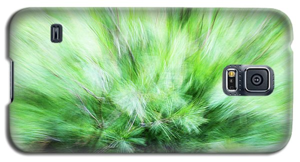 Galaxy S5 Case featuring the photograph Abstract Leaves 7 by Rebecca Cozart