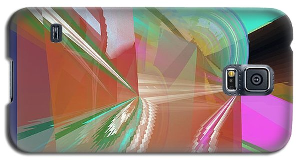Abstract Light Galaxy S5 Case
