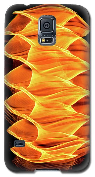 Abstract Light Number 2 Galaxy S5 Case