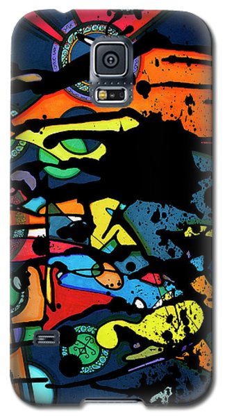 Abstract Man  Galaxy S5 Case