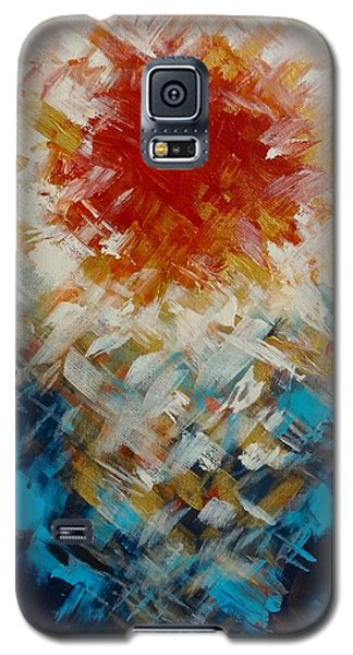 Abstract Blood Moon Galaxy S5 Case