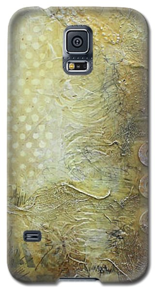 Abstract Modern Art Earth Tones Galaxy S5 Case