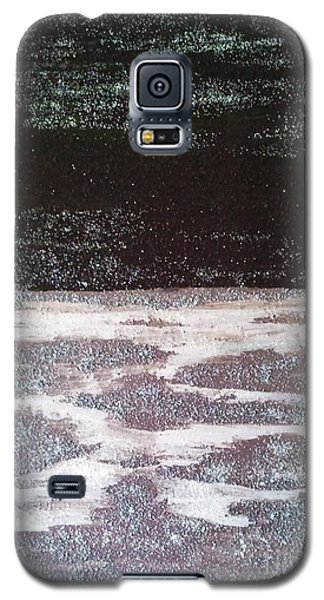 Galaxy S5 Case featuring the painting Abstract Nail Polish Jg7 by Jasna Gopic