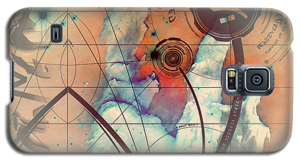 Abstract No 28 Galaxy S5 Case by Robert G Kernodle