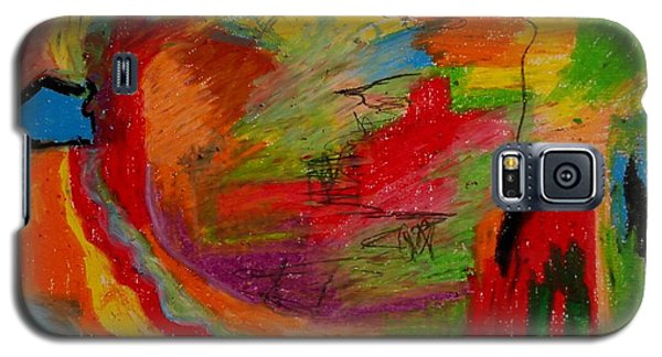 Abstract No. 3 Inner Landscape Galaxy S5 Case by Maria  Disley