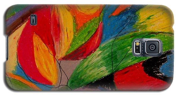 Abstract No. 5 Springtime Galaxy S5 Case