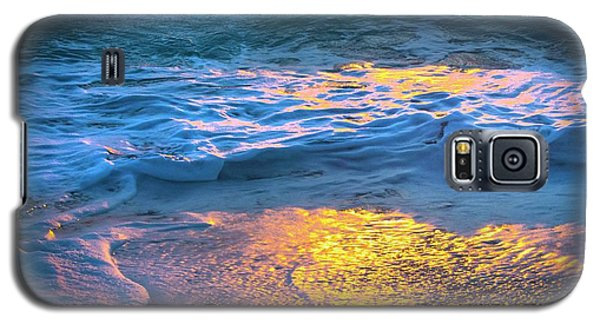 Abstract Of Beach Galaxy S5 Case