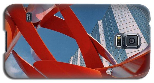 Abstract - Oklahoma City Galaxy S5 Case