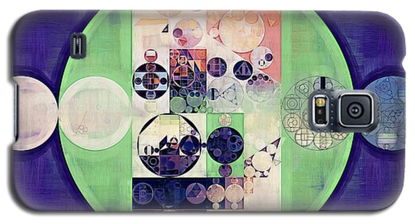 Galaxy S5 Case featuring the digital art Abstract Painting - Blanc by Vitaliy Gladkiy