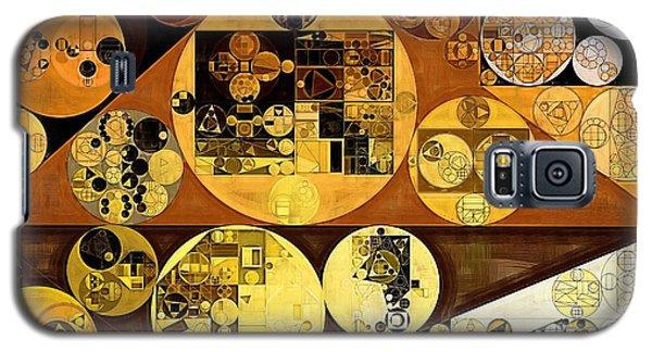 Galaxy S5 Case featuring the digital art Abstract Painting - Mai Tai by Vitaliy Gladkiy