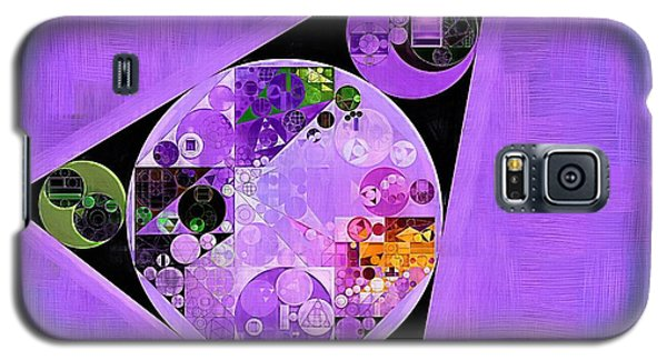 Galaxy S5 Case featuring the digital art Abstract Painting - Slate Blue by Vitaliy Gladkiy