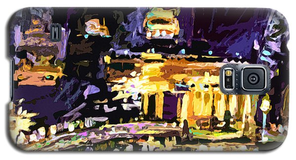 Abstract Paris Night Reflections Galaxy S5 Case