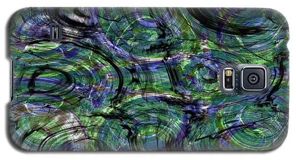 Abstract Pattern 5 Galaxy S5 Case by Jean Bernard Roussilhe