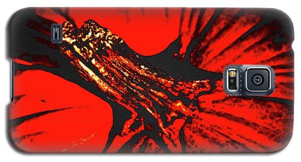 Abstract Pumpkin Stem Galaxy S5 Case