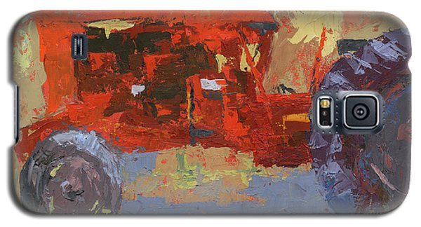 Abstract Red Tractor Galaxy S5 Case