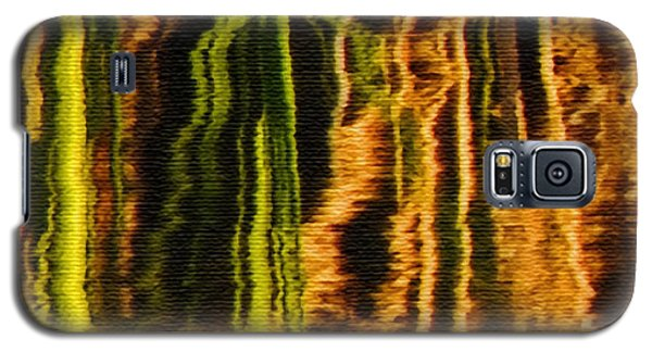 Abstract Reeds Triptych Middle Galaxy S5 Case