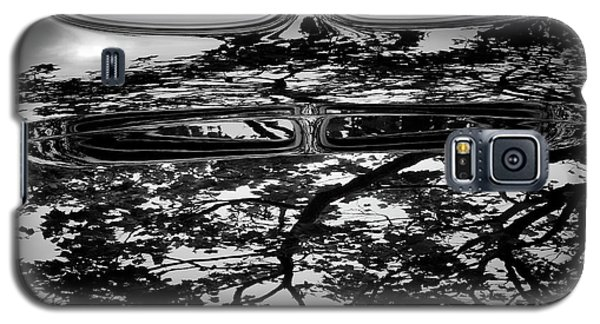 Abstract Reflection Bw Sq II - Vehicle Galaxy S5 Case