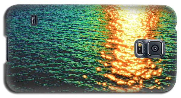 Abstract Reflections Digital Painting #5 - Delaware River Series Galaxy S5 Case