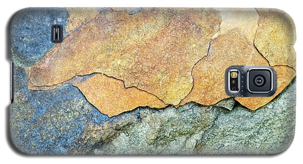 Galaxy S5 Case featuring the photograph Abstract Rock by Christina Rollo