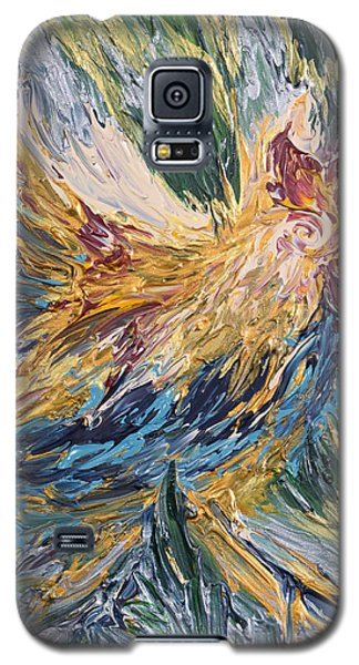 Abstract Guam Rooster Galaxy S5 Case