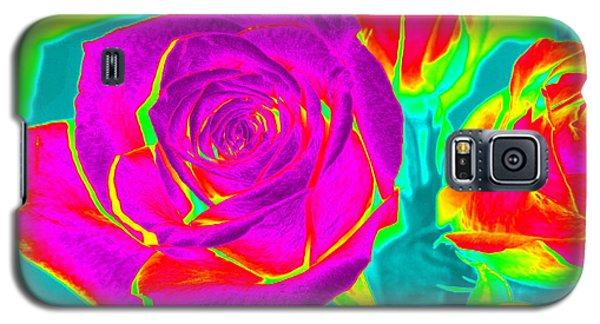 Blooming Roses Abstract Galaxy S5 Case