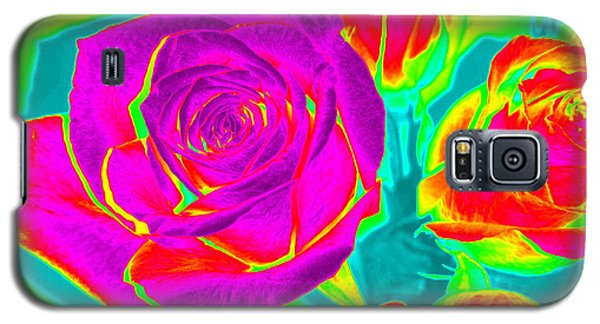 Abstract Roses Galaxy S5 Case