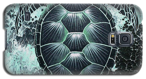Abstract Sea Turtle Galaxy S5 Case