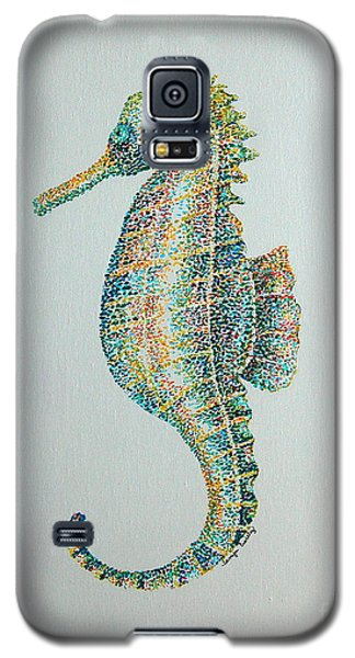 Abstract Seahorse Galaxy S5 Case
