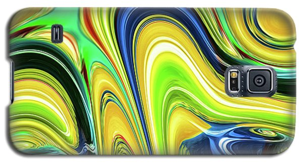 Abstract Series 153240 Galaxy S5 Case