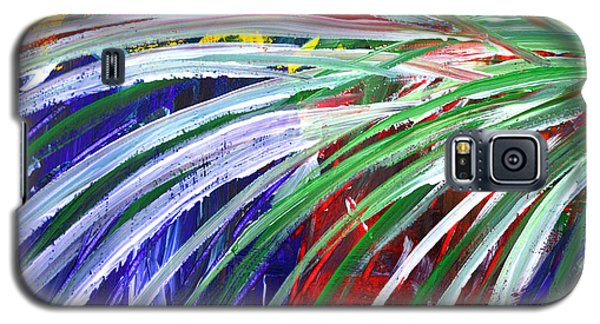 Abstract Series C1015bl Galaxy S5 Case