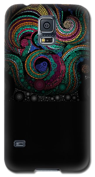 Lace Art Galaxy S5 Case by Sheila Mcdonald