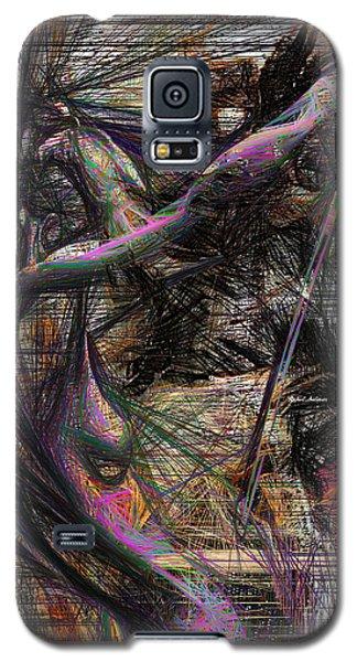 Abstract Sketch 1334 Galaxy S5 Case