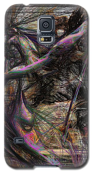 Abstract Sketch 1334 Galaxy S5 Case