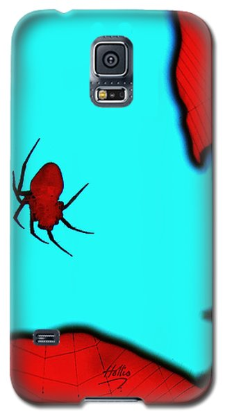Abstract Spider Galaxy S5 Case