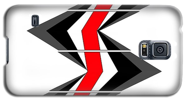 Galaxy S5 Case featuring the digital art Abstract Stairs by John Wills