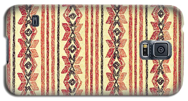 Abstract Stripes Pattern Galaxy S5 Case