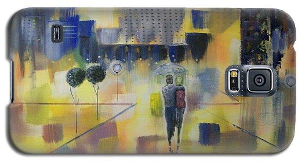 Abstract Stroll Galaxy S5 Case by Raymond Doward