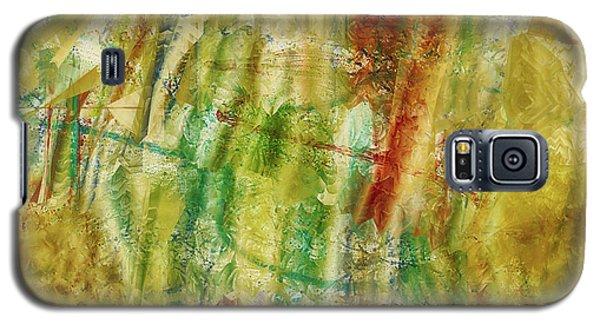Galaxy S5 Case featuring the digital art Abstract Sunday by Deborah Benoit