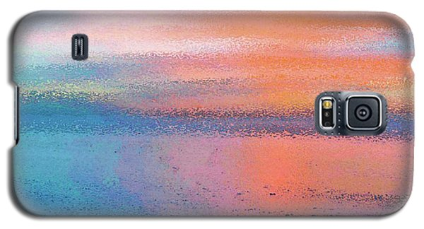 Abstract Sunset Galaxy S5 Case