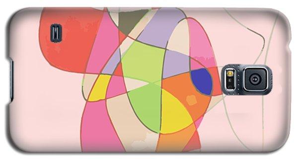 Abstract Swirls Galaxy S5 Case