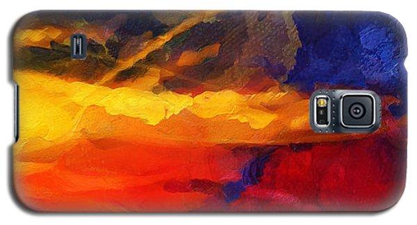 Abstract - Throw  Galaxy S5 Case
