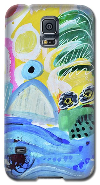 Abstract Tropical Landscape Galaxy S5 Case