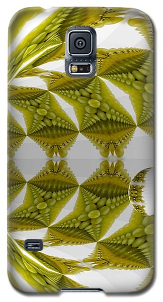 Abstract Tunnel Of Yellow Grapes  Galaxy S5 Case