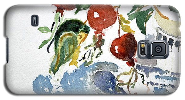 Abstract Vegetables 2 Galaxy S5 Case
