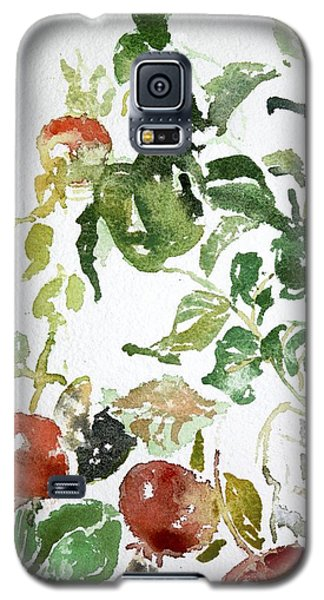 Abstract Vegetables Galaxy S5 Case