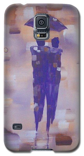 Abstract Walk In The Rain Galaxy S5 Case by Raymond Doward