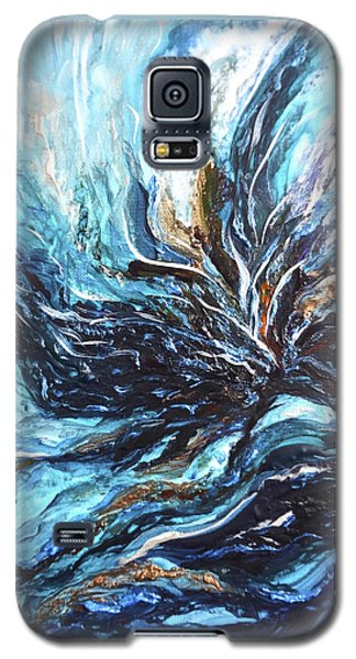 Abstract Water Dragon Galaxy S5 Case