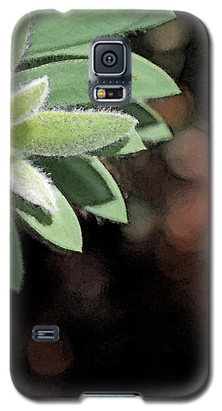 Galaxy S5 Case featuring the photograph Abstract Watercolor by Judy Vincent