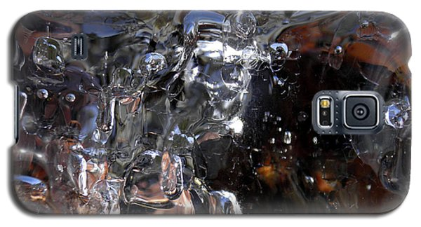 Galaxy S5 Case featuring the photograph Abstract Waterfall by Sami Tiainen